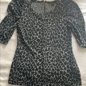 🌷Forever 21 leopard top